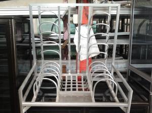 jual rak aluminium(R01)